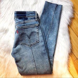 Levi's Jeans - Anthropologie x Levi's Altered 711 Skinny Jean 🦋